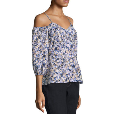 Belle + Sky 3/4 Sleeve Corset Top