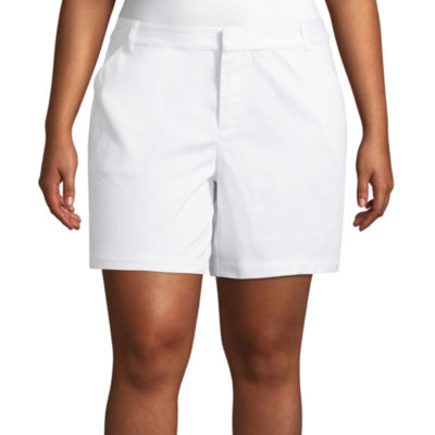 "Boutique + 7"" Twill Shorts - Plus"