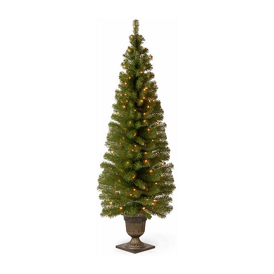 National Tree Co. 6 Foot Montclair Spruce Spruce Pre-Lit Christmas Tree