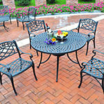 "Sedona Cast Aluminum 42"" 5-pc. Patio Dining Set"