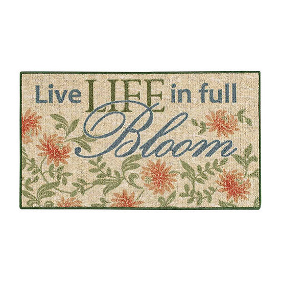 Live Life in Full Bloom Rug