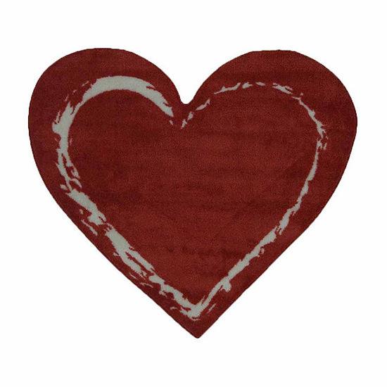 Red Heart Indoor Rugs
