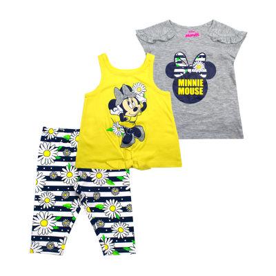 Disney 3-pc. Minnie Mouse Legging Set-Toddler Girls