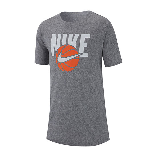 Nike Boys Crew Neck Short Sleeve Dri Fit Graphic T Shirt Big Kid