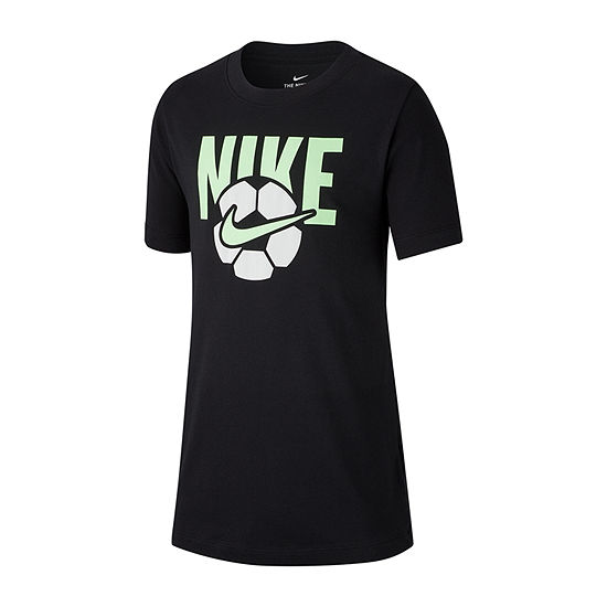 Nike Boys Crew Neck Short Sleeve Dri Fit Graphic T Shirt Big Kid
