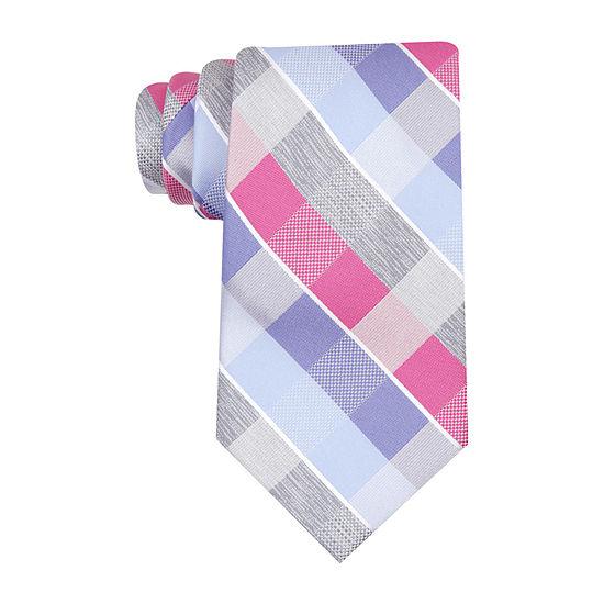 Stafford Checked Tie