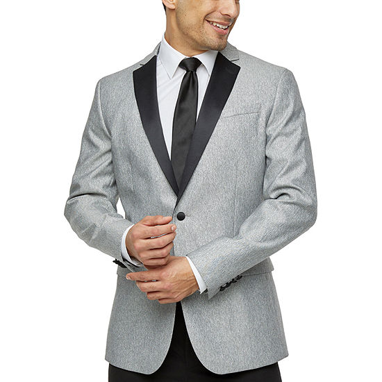 JF J.Ferrar Classic Fit Stretch Tuxedo Jacket - Big and Tall