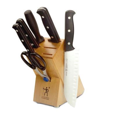 Henckels International Fine Edge Pro 7-Pc. Knife Block Set
