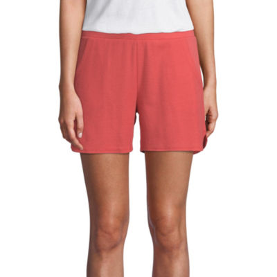 St. John's Bay Active Texture Mix Short - Tall