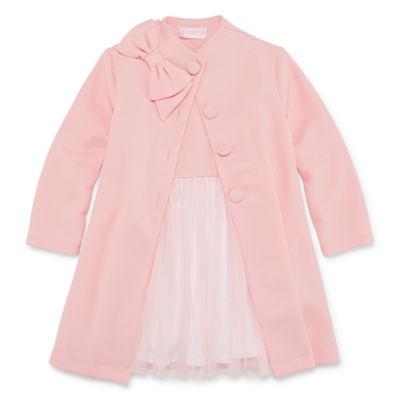 Young Land 2-pc. Jacket Dress Toddler Girls