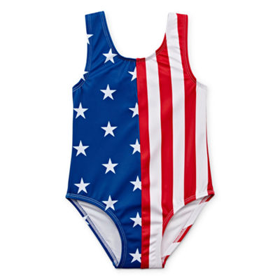 City Streets One Piece Swimsuit Toddler Girls