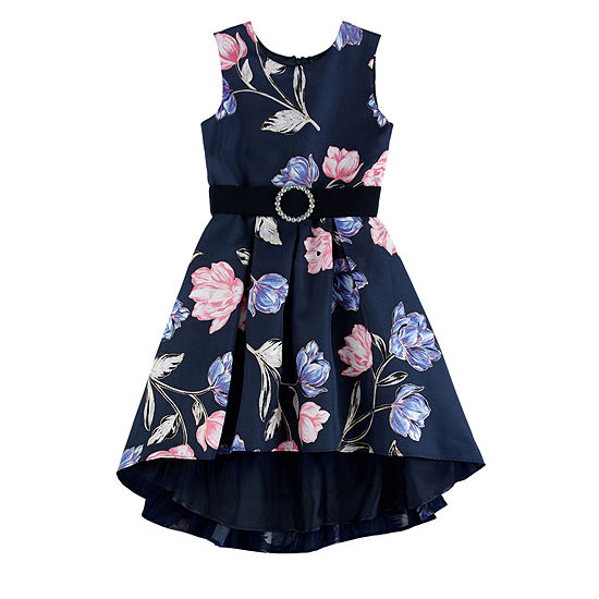 Love Jayne Little & Big Girls Sleeveless High-Low Party Dress