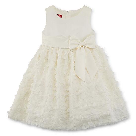 Princess Faith Girls Sleeveless Party Dress