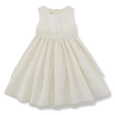 Princess Faith Sleeveless Party Dress Girls