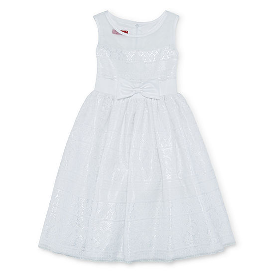 Princess Faith Girls Sleeveless Party Dress