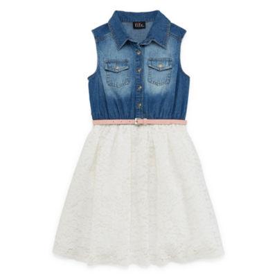 Lilt Sleeveless Tutu Dress Girls