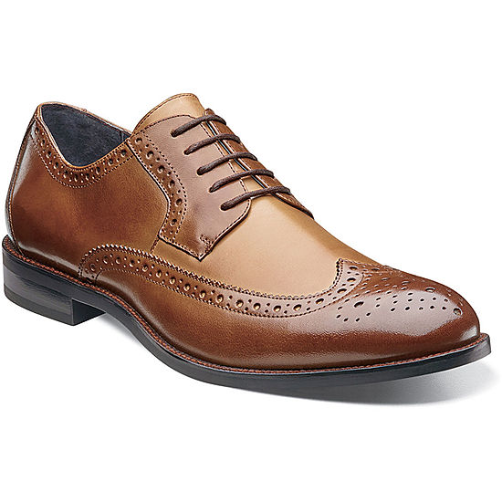 b626ecb9714f8 Stacy Adams Garrison Mens Wingtip Oxfords JCPenney