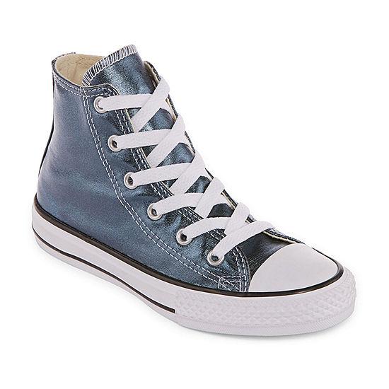 16b49a650053 Converse Chuck Taylor All Star Metallic Girls Sneakers - Little Kids -  JCPenney
