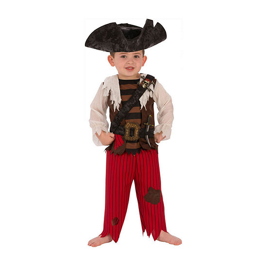 Buyseasons Boys Pirate Matey Costume