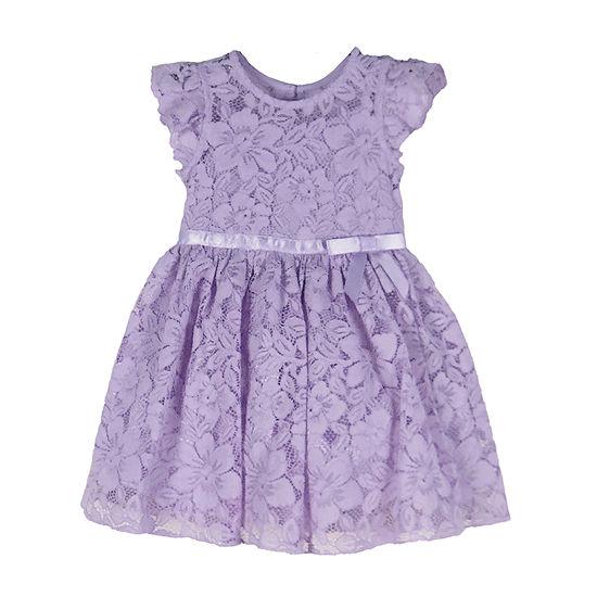 Lilt - Toddler Girls Short Sleeve Party Dress