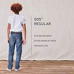 Levi's Big Boys 505 Straight Regular Fit Jean