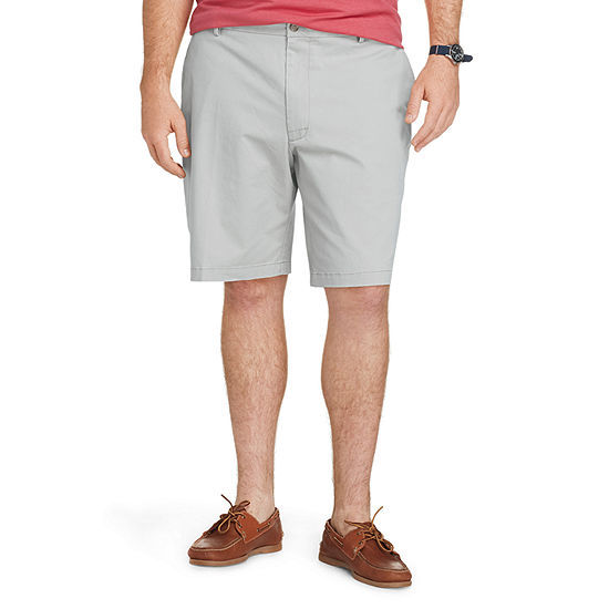 IZOD Saltwater Stretch Mens Stretch Chino Short-Big and Tall
