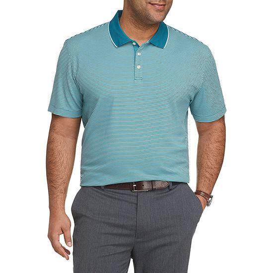 Van Heusen Big and Tall Mens Van Heusen Air Polo Mens Short Sleeve Polo Shirt