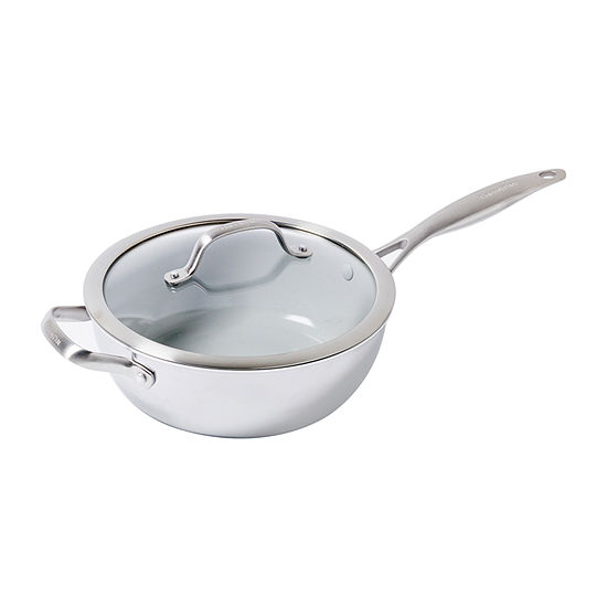 Venice Pro Ceramic Nonstick 3.5 QT Chefs Pan Helper Handle