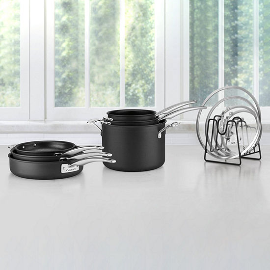Cuisinart Smartnest 11-PC Hard Anodized Cookware Set