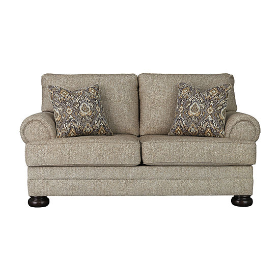 Signature Design by Ashley Kanani Collection Roll-Arm Loveseat