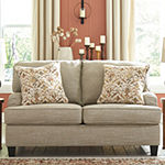 Signature Design by Ashley Almika Collection Pad-Arm Loveseat