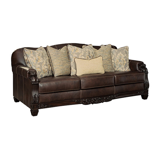 Signature Design by Ashley Emry Collection Roll-Arm Sofa