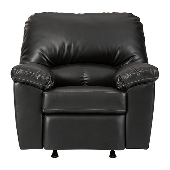 Signature Design by Ashley Bradford Collection Pad-Arm Recliner