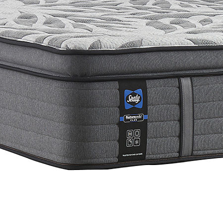 Sealy Posturepedic Plus Porteer Soft Pillow Top Mattress Only, Twin Xl, Gray