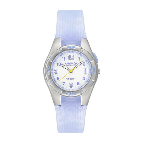 Armitron Prosport Womens Purple Strap Watch-25/6440lav