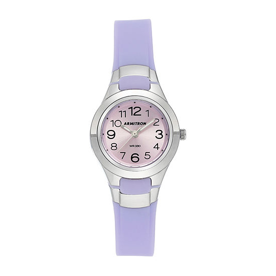 Armitron Pro Sport Womens Purple Strap Watch-25/6418lav