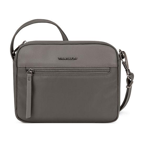Travelon Anti Theft Addison Small Crossbody Messenger Bag