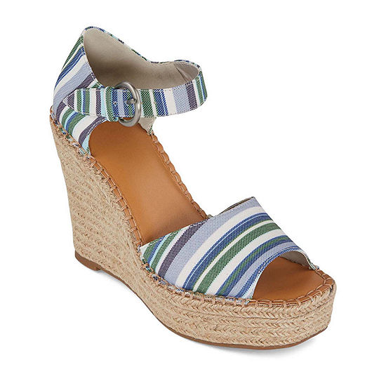 a.n.a. Womens Xyla Wedge Sandals