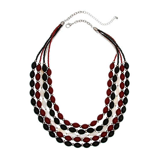 Mixit 24 Inch Beaded Necklace