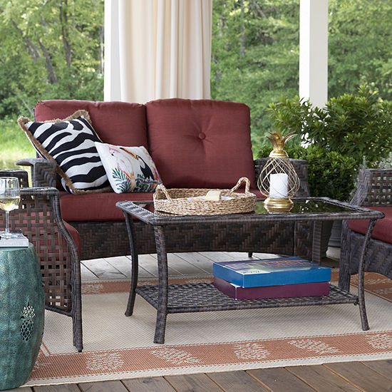Outdoor Oasis Palm Island 2-pc. Conversational Chair
