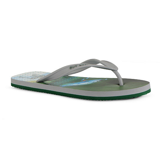 Guy Harvey Mens Cayman Tarpon Flip-Flops