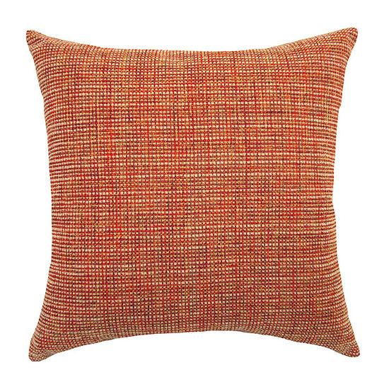 Home Fashions International Woodbury Spice Square Throw Pillow