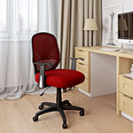 Leathette and Mesh Office Chair