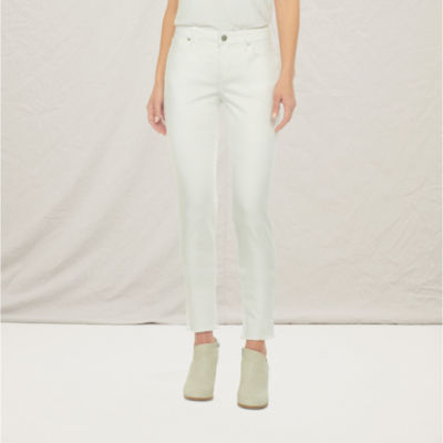 a.n.a Womens Mid Rise Skinny Jean