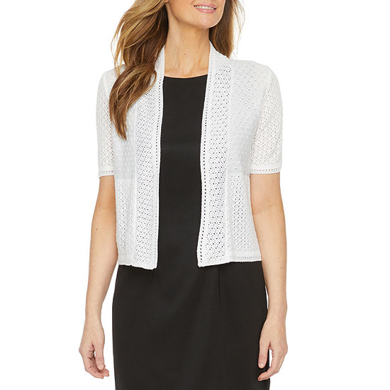 Perceptions Womens Short Sleeve Shrug