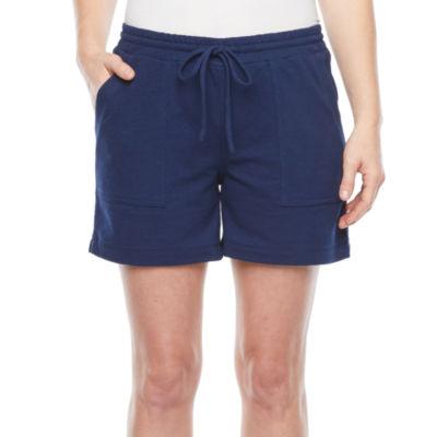 Liz Claiborne Womens Pull-On Short