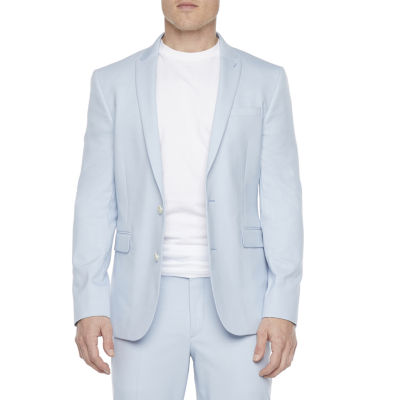 JF J.Ferrar Ultra Mens Stretch Relaxed Fit Suit Jacket-Super Slim