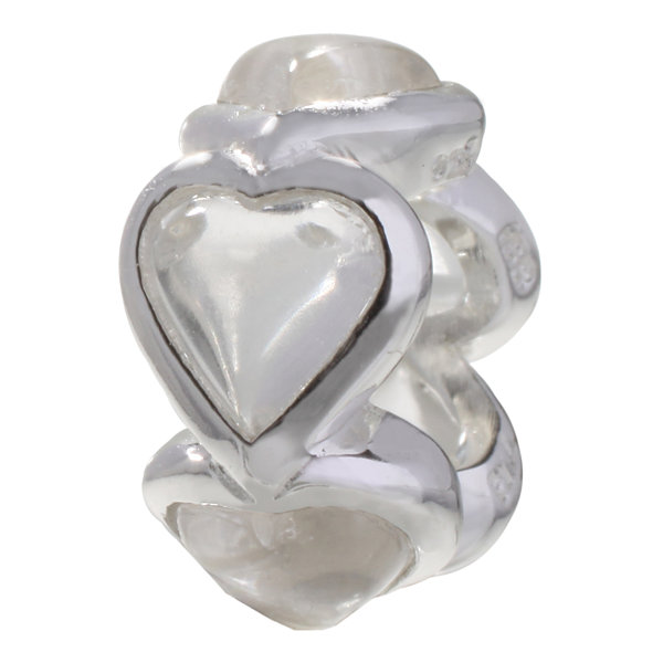 Forever Moments™ Heart Spacer Bead