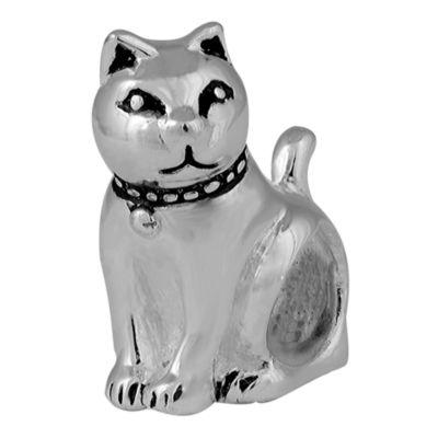Forever Moments™ Oxidized Cat Charm Bracelet Bead