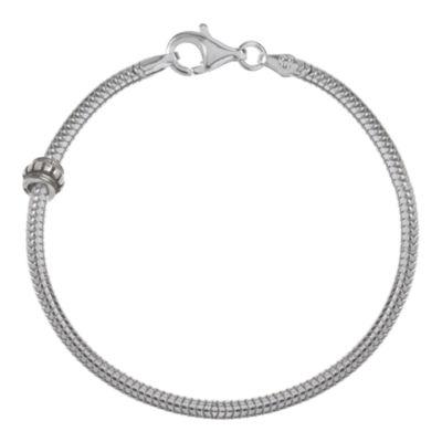 """Forever Moments™ 8.5"""" Snake Chain Bracelet"""